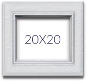 Fotolijsten 20x20