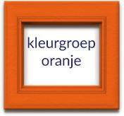 Fotolijst Oranje