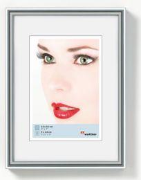 Kunststof Fotolijst Galeria 24x30 Zilver