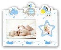 Fotolijst Baby Cedric Blauw
