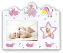 Fotolijst Baby Chantal Roze