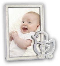 Verzilverde Baby Fotolijst Chloe