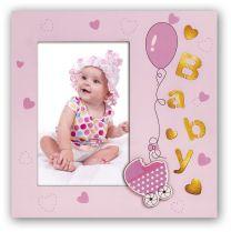 Fotolijst voor baby met verlichting