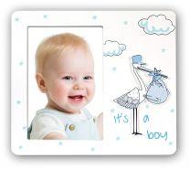 Fotolijst Baby Fagottino Blauw