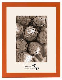 Houten Fotolijst Anitra Oranje - met anti-reflectieglas