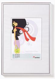 Kunststof Fotolijst New Lifestyle 21X29,7 (DIN A4) Zilver