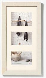 Multi Fotolijst Homme 3x 13x18 Crème/Wit