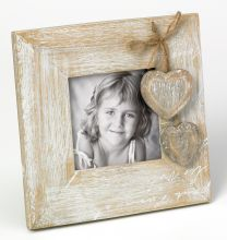 Fotolijstje Le Coeur 9x9 vierkant met hartjes