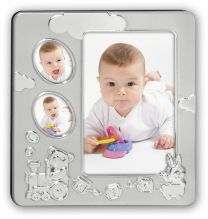 Verzilverde Fotolijst Baby Thomas