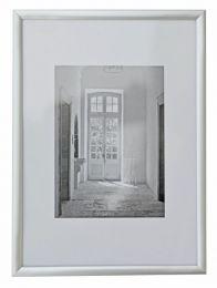 Aluminium Fotolijst Trendline 40x50 Zilver
