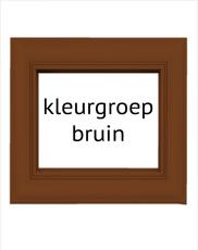 Bruine fotolijsten