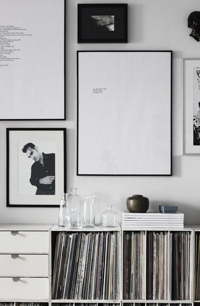 fotolijst zwart-wit foto
