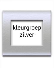 Zilveren fotolijsten